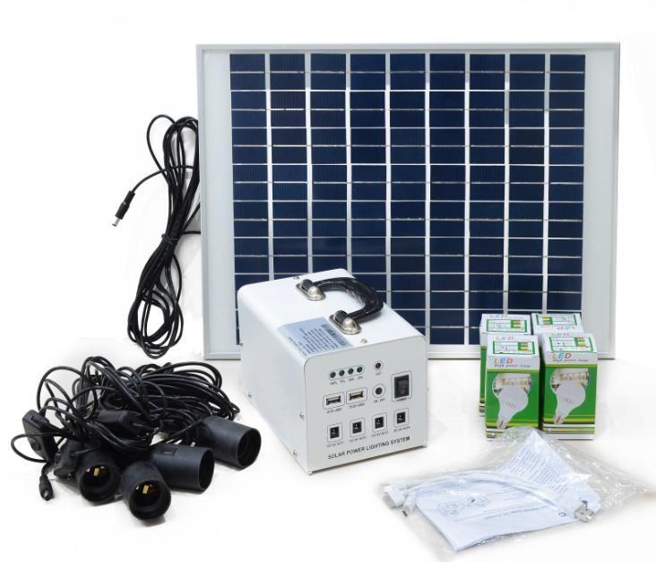 家用太阳能光伏照明系统出口沙特IECEE & COC认证服务方案(图1)